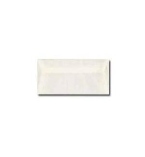 Envelope Papel Natural 95gr 11x22cm Blister 25un Branco