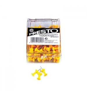 Sinalizadores Presto (100un) Amarelo