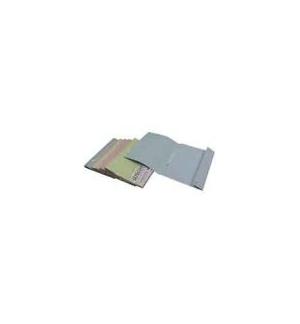 Classificadores Comerciais 250gr c/Ferragem/Aba Azul Pack10