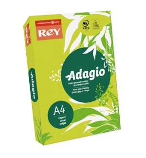 Papel Fotocopia Adagio(cd81) A4 80gr Verde Claro 1x500Fls