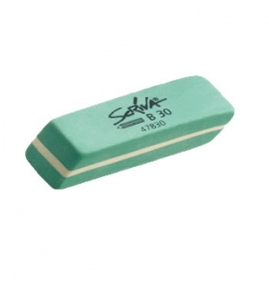 Borracha Lapis Verde Scriva 57x20x10 1un