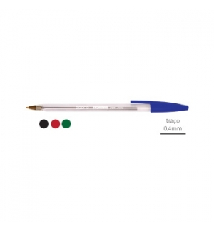 Esferografica Ball Point 10 Epene EP01-0108 Preto-1un