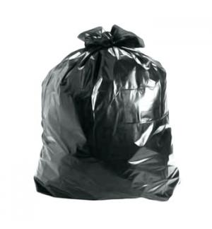 Sacos Lixo Plast 100Lts Preto 575my (80x120) (10Kg)