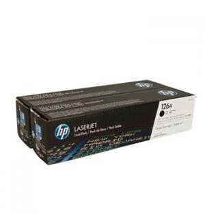 Toner HP Laserjet 126A (CE310AD) Pack 2 Preto