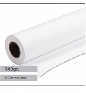 Papel Premium Coated 140gr 1372mmx30mts - 1 Rolo