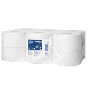 Papel Higienico (Jumbo) 120mts 2Fls TORK 9cm - 12 Rolos