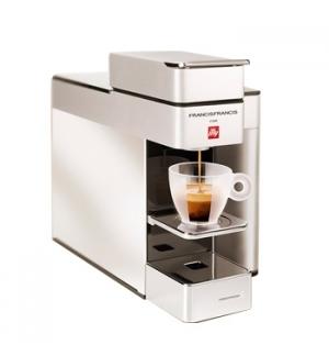 Maquina Cafe Capsulas ILLY Y5 Iperespresso Cor Branco