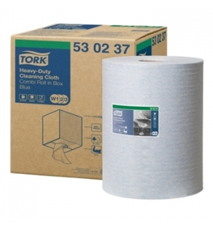 Rolo Toalhas Mao Azul 106mtsx38cm 2Fls TORK W1/W2/W3
