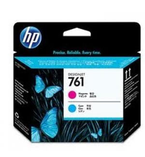 Cabeca de Impressao HP 761 Magenta/Azul