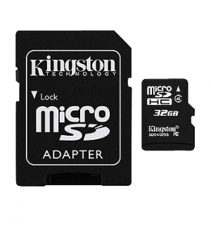 Cartao Memoria 32Gb Kingston Micro SDHC