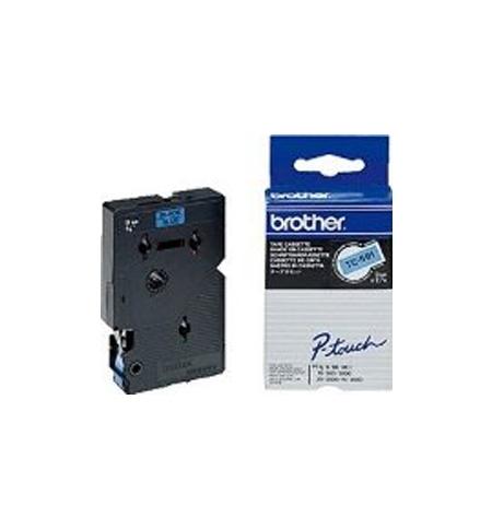 Fita para Gravacao P-Touch 9mm Azul/Preto