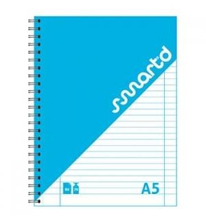Caderno Espiral A5 SmartD Capa Cartolina Pautado