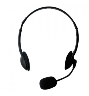Headset duplo para Call Centers low cost