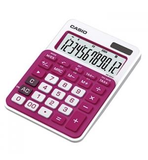 Calculadora de Secretaria Casio MS20NC Vermelho12 Digito