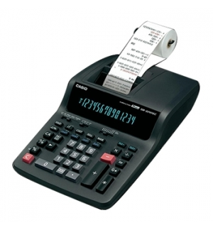 Calculadora de Secretaria Casio CAS-DR320RE 14 Digitos Fita