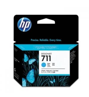 Tinteiro HP Dsignjet T120/T520 N711 Azul Pack3
