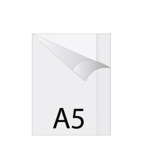 Capa Plastico Protectora de Livros Transparente A5