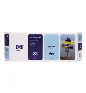 Tinteiro DesignJet 5000/5000PS/5500 (C4934A) N81 Azul Claro