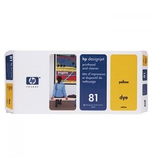 Cabeca de Impressao e Limpeza (C4953A) N81 Amarelo