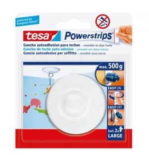 Gancho Adesivo Tetos Tesa Powerstrips 0,5kg 1un