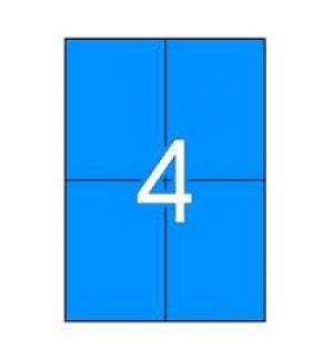 Etiquetas 105x148 Apli 20 Folhas A4 80un Azul
