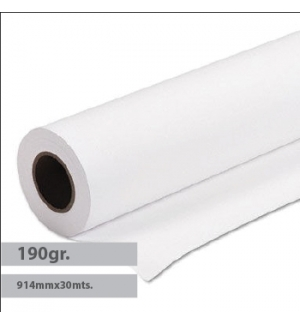 Papel Fotografico Satin 190g 914mmx30m Evolution - 1un