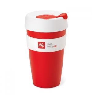 Copo Illy KeepCup Travel Mug Vermelho 1un