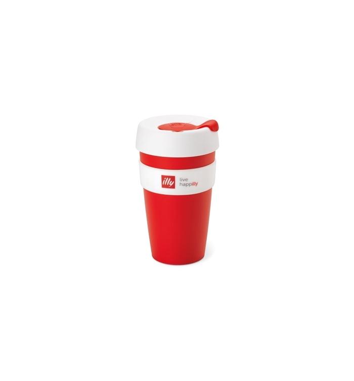 Copo Illy 1un Keepcup Travel Vermelho Mug Nn0wm8