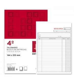 Blocos Impressos-Nota de Entrega- 155x215mm c/Triplicado