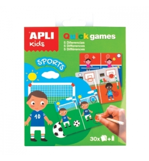 Jogo Apli Kids Quick Games Tema Desporto 1un