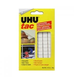 Fixadores UHU Tac Branco (Massa Adesiva para Posters)-1un