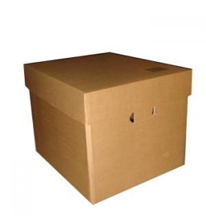 Caixa Cartao Simples c/Tampo 375x320x285mm (0034m3) Pack 10
