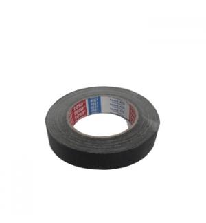 Fita Adesiva Tesa Tecido Preto Multiusos 25mmx25mt - 1un