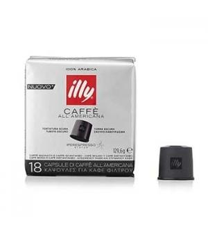 Cafe Capsulas ILLY IPERESPRESSO Filtro Tosta Scura (Cx 18u)