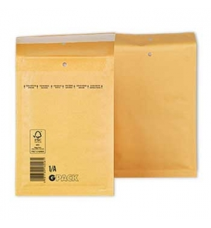 Envelopes Air-Bag 105x165 Kraft N 000 un