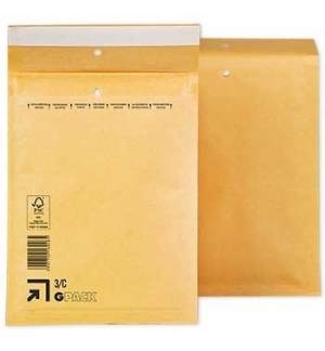 Envelopes Air-Bag 150x215 Kraft N 0 un