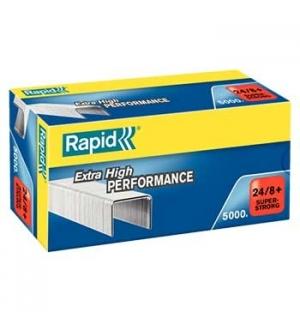 Agrafos 24/8 Rapid (10/50 Folhas) Cx5000