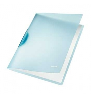 Classificador Clip Lateral Leitz 4176 Azul - 1un