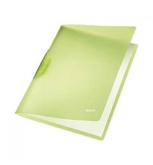Classificador Clip Lateral Leitz 4176 Verde - 1un
