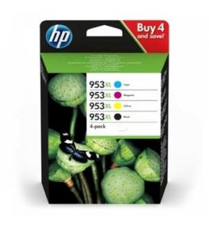 Tinteiro HP N953XL Pack 4 cores (BK/C/M/Y)