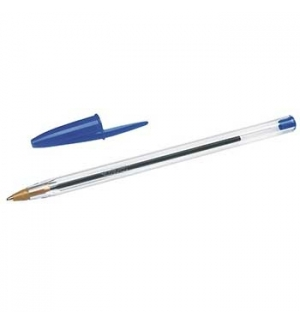 Esferografica Ball Point BIC Cristal Azul Cx 50un