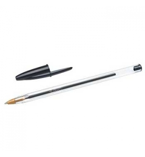 Esferografica Ball Point BIC Cristal Preto Cx 50un