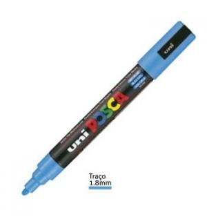 Marcador Uniball Posca PC5M 18mm Azul Ceu -1un