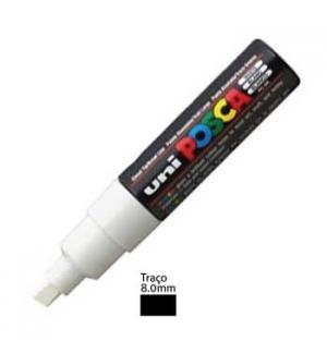 Marcador Uniball Posca PC8K 80mm Branco -1un