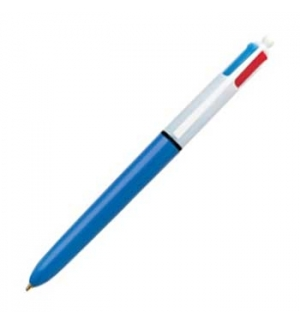 Esferografica Ball Point 10 BIC (Retractil) 4 cores