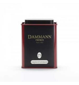 Cha Lata Coquelicot Gourmand Dammann Nº275 (lata 80g)