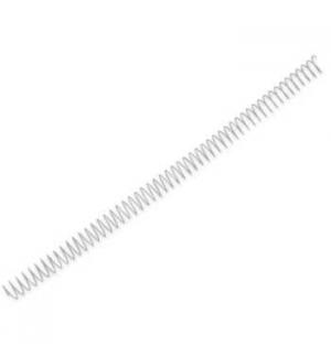 Argolas Espiral Metalicas Passo 5:1 16mm Cx 100 Prata
