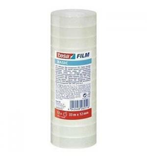 Fita Adesiva 12mmx33mts Clear Tesa Basic 1unid
