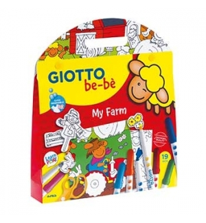 Conjunto Giotto Be-Be Set My Be-Be Farm