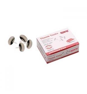 Pioneses Niquelados Diametro 9mm Epene Cx100un